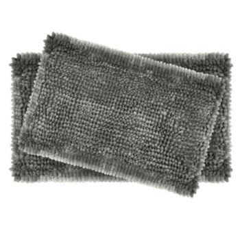 black bath rugs & bath mats for bed & bath - jcpenney