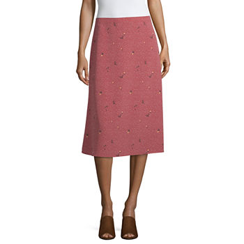 563d76a6a01a Knee Length Brown Skirts for Women - JCPenney