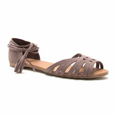 Palmer 393 Lace Up Ballerina