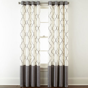 Gray Curtains Amp Drapes For Window Jcpenney