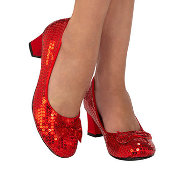 Red Sequin Adult Pump Costume Costume