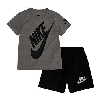 e6851487b6 Nike Boys Round Neck Short Sleeve Graphic T-Shirt Preschool / Big Kid. Add  To Cart. Black. $26.99 sale