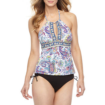 aad1a984543576 Liz Claiborne Chevron Tankini Swimsuit Top or Swimsuit Bottom · (11). Only  at JCP. Blue