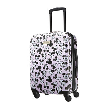 American Tourister Minnie Loves Mickey - Mickey and Friends 20 Inch Hardside Lightweight Luggage