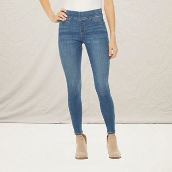 a.n.a-Tall Womens Pull On Sculpt Jegging