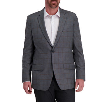Haggar Mens Stretch Regular Fit Sport Coat