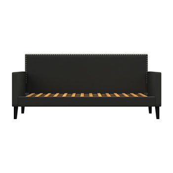 Juliette Upholstered Twin Square Back Daybed