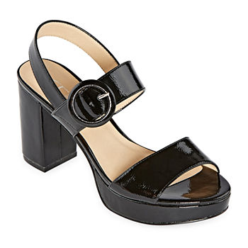 CL by Laundry Womens Gwenn Pumps Block Heel