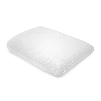 Sensorpedic Gel-Overlay Comfort Memory Foam Gel Medium Density Pillow