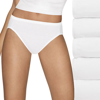 075b4dc34629 Hanes White Panties for Women - JCPenney