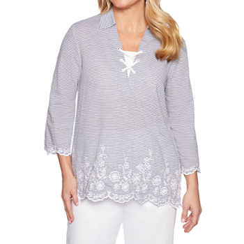 9add812726 Alfred Dunner Tops for Women - JCPenney
