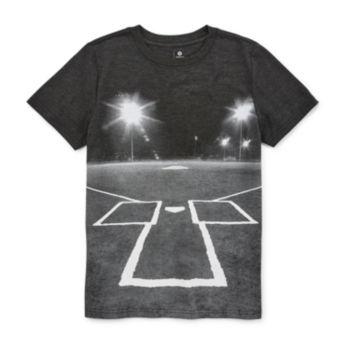 Xersion Boys Crew Neck Short Sleeve Graphic T Shirt