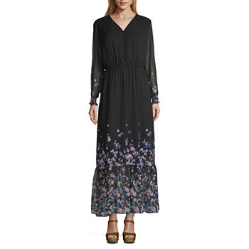 5c58bed38b3 Spense Sleeveless Floral Maxi Dress. Add To Cart. Black Multi.  47.99 sale