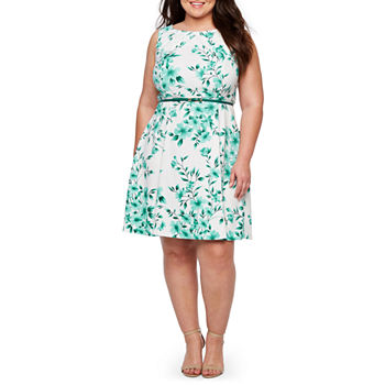 9f3c274b765 Plus Size Green Church Dresses for Women - JCPenney