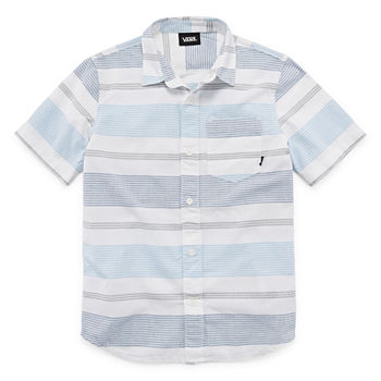 e3f448df Vans Button-front Shirts Shop All Boys for Kids - JCPenney