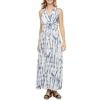 Studio 1 Sleeveless Tie Dye Maxi Dress