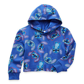Disney Little & Big Girls Lilo & Stitch Hoodie