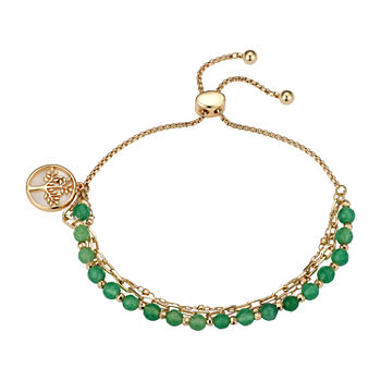 Footnotes Aventurine 8 Inch Cable Bolo Bracelet