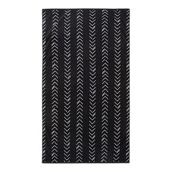 Loom + Forge Chevron Organic Cotton Jacquard Beach Towel