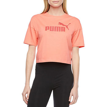 Puma Essentials Womens Crew Neck Short Sleeve T-Shirt