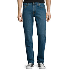 Arizona Flex Relaxed-Fit Straight Jeans