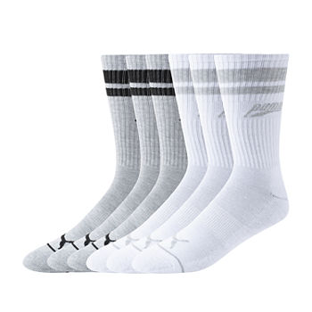 Puma Mens 6 Pair Crew Socks