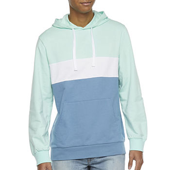 Hollywood Colorblock Mens Long Sleeve Hoodie