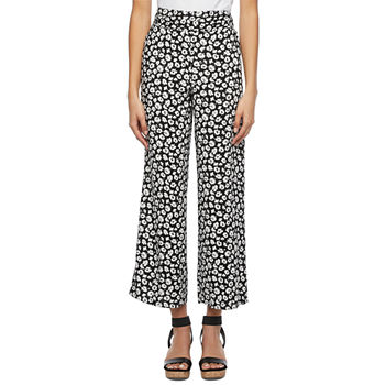 by&by Womens Juniors Straight Palazzo Pant