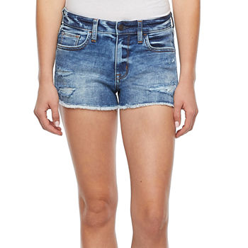 Arizona - Juniors Womens Mid Rise Short