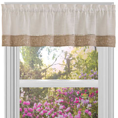 Oakwood Rod-Pocket Valance