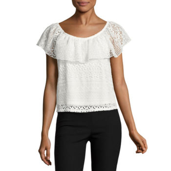 Blouson Blouses Tops For Women Jcpenney