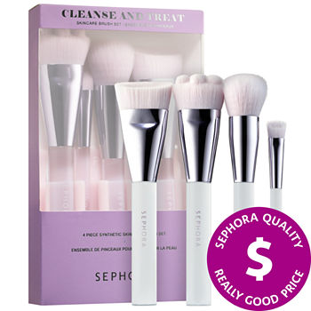 SEPHORA COLLECTION Cleanse and Treat Skincare Brush Set