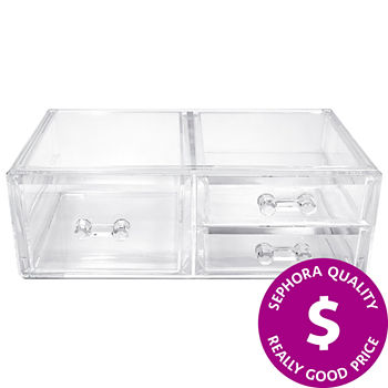 SEPHORA COLLECTION Clear 3-Drawer Makeup Organizer