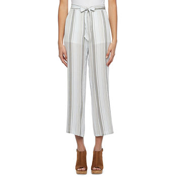 by&by Womens Straight Palazzo Pant-Juniors