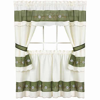 Birdhouse Kitchen Curtains New Decorating Design