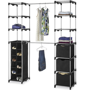 portable closets closeouts for clearance jcpenney - Portable Wardrobe Closet