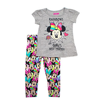 0558a6ec7a79 Minnie Mouse Legging Sets Girls 2t-5t for Kids - JCPenney