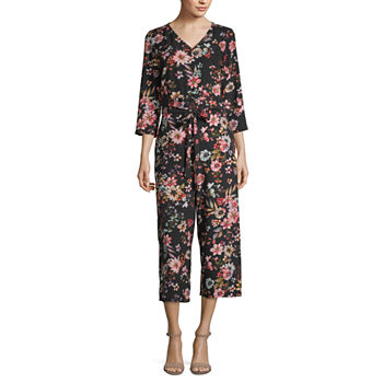 33ce64f8143d Floral Jumpsuits   Rompers for Women - JCPenney