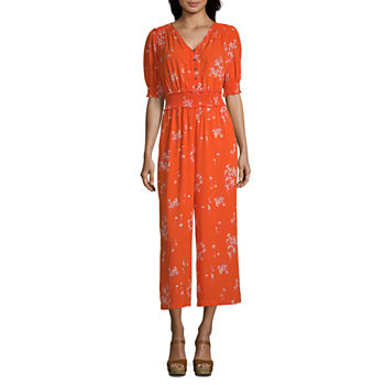 8585f7920e4 Women Red Jumpsuits   Rompers for Women - JCPenney