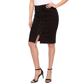 37938535e75de8 Liz Claiborne Womens Pencil Skirt. Add To Cart. New. Black