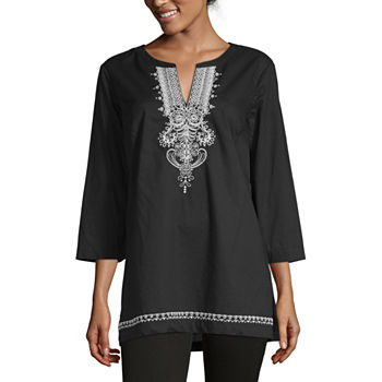 813edc5e6ea Tunic Tops Tops for Women - JCPenney