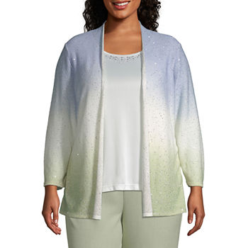 c79eb695fc0 Plus Size Sequins Tops for Women - JCPenney