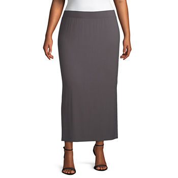 8d2b7fbae20 Plus Size Maxi Skirts Skirts for Women - JCPenney