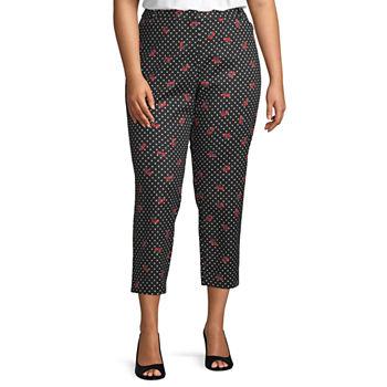 0a834adf9c3 Liz Claiborne Plus Size Pants for Women - JCPenney