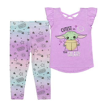 The Mandalorian Toddler Girls 2-pc. Star Wars Legging Set