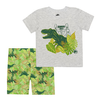 Universal Toddler Boys 2-pc. Jurassic World Short Set