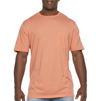 The Foundry Big & Tall Supply Co. Pocket Tee Mens Crew Neck Short Sleeve T-Shirt