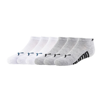 Puma Little & Big Boys 6 Pair Low Cut Socks