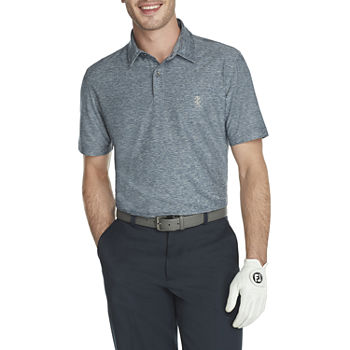 IZOD Golf Title Holder Mens Cooling Short Sleeve Polo Shirt