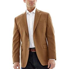 Stafford® Executive Tobacco Hopsack Blazer - Classic